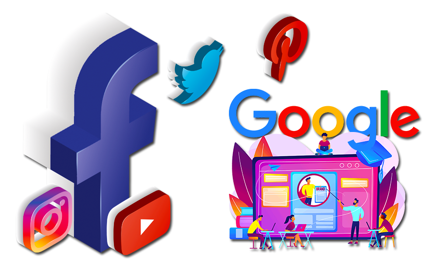 social media kampagne. google ads, ranking coaching